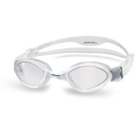 Head Tiger - Gafas de natación - blanco/transparente
